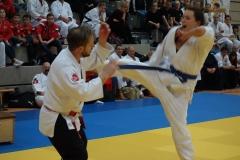 Die seltene Selbstverteidigungskunst Taekido lehrte der Vorsitzende und Cheftrainer des Gastgeber-Dojo Ajia Undokai Plauen, Michael Faulhaber
