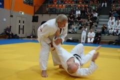 Die Ausbildung im Kodokan Judo übernahm Dave Wareing. Mit jahrzehntelanger Erfahrung ist er auch ein Spezialist im Judo-Bodenkampf.