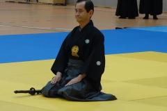 Kumazawa Sensei 8.Dan Iaido Kyoshi, ein großer Meister des Schwerts.