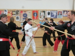 Bo-Jutsu Partnerübungen