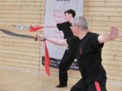 Übungen mit dem Schwert